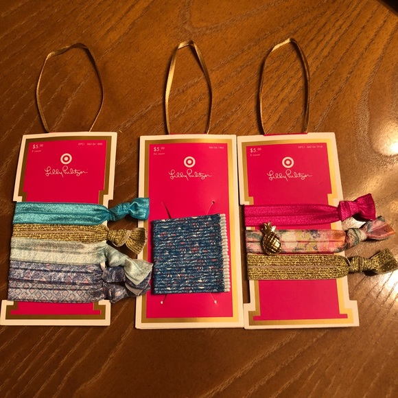 Lilly Pulitzer for Target Hair Ties and Bobby Pins a40de38ced7